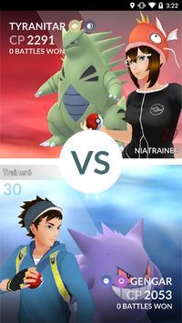 Pokémon GO captura de pantalla 5