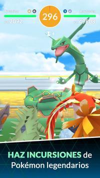 Pokémon GO captura de pantalla 1