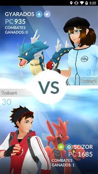 Pokémon GO captura de pantalla 7