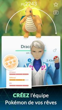 Pokémon GO capture d'écran 4