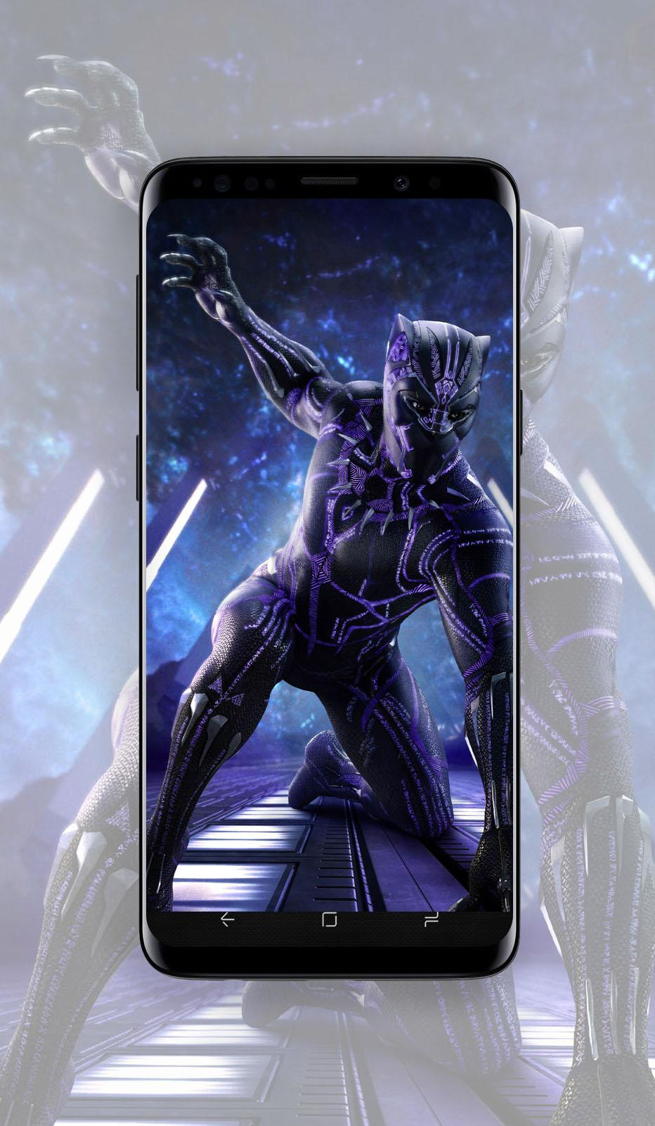 Black Panther Wallpaper Hd 4k For Android Apk Download