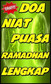 Niat Puasa Ramadhan Lengkap poster