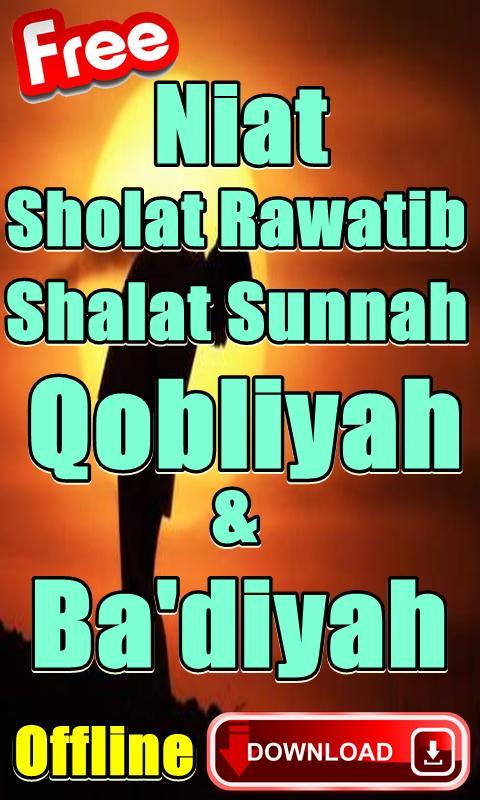 Waktu Sholat Qobliyah Dan Badiyah