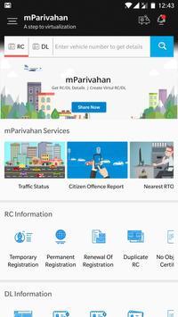 mParivahan screenshot 1