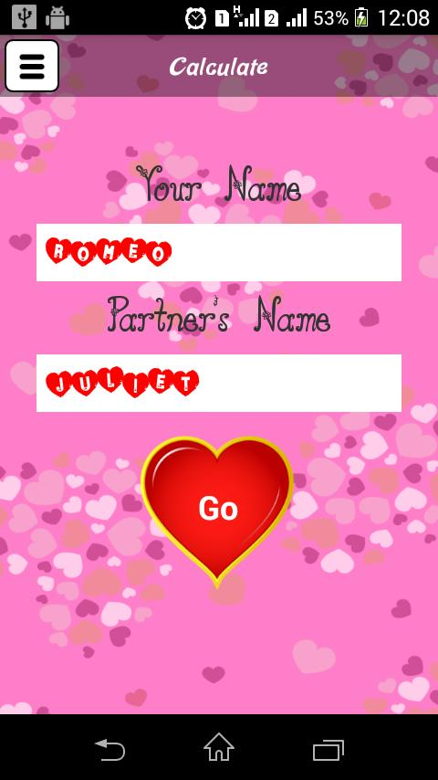Love Calculator For Android Apk