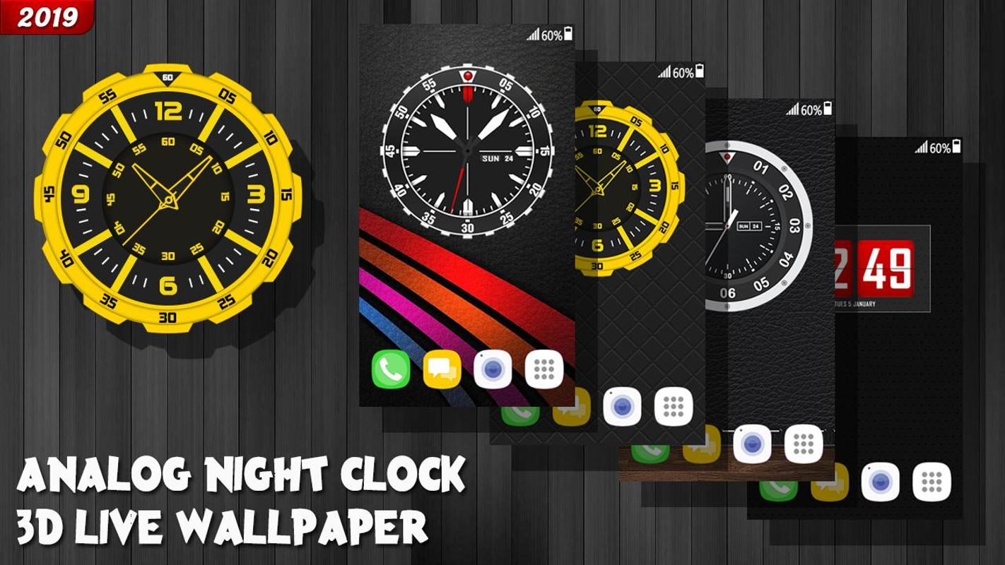 Free Clock Wallpaper For Android | Wallpapers Lock Screen