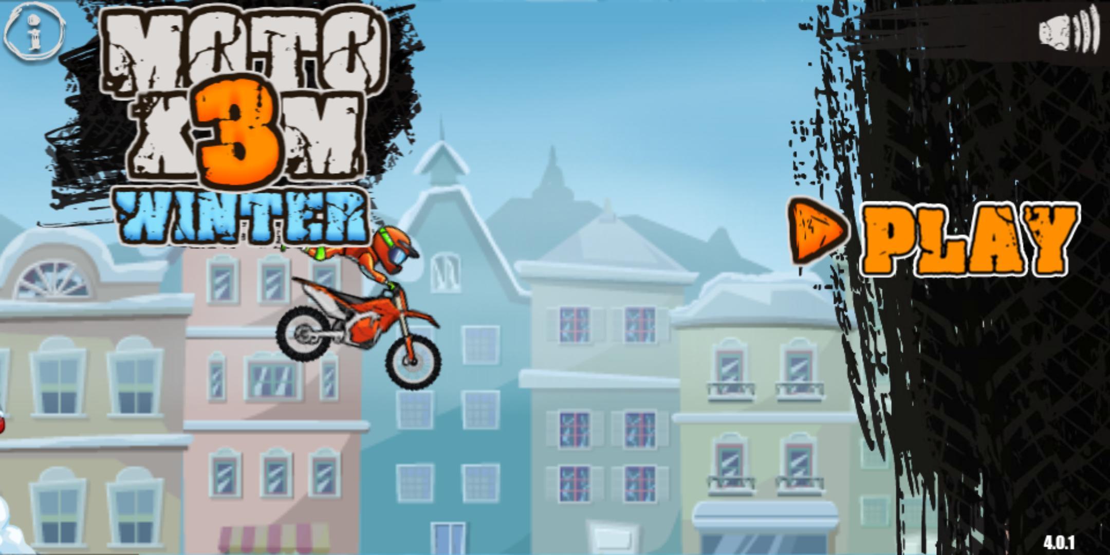 Moto X3M: Winter