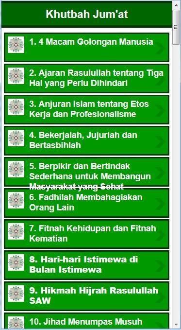 Kumpulan 101 Khutbah Jumat Terbaru For Android Apk Download