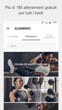 1 Schermata Nike Training