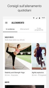 2 Schermata Nike Training