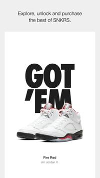 Nike SNKRS: Find & Buy The Latest Sneaker Releases पोस्टर