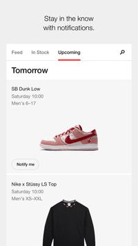 Nike SNKRS: Find & Buy The Latest Sneaker Releases स्क्रीनशॉट 1