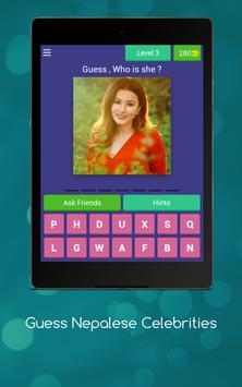 Guess Nepalese Celebrities screenshot 10