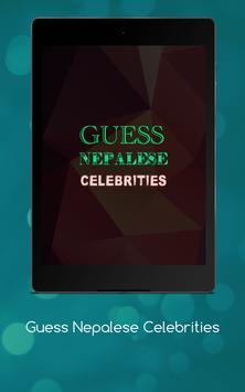 Guess Nepalese Celebrities screenshot 11
