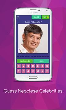 Guess Nepalese Celebrities screenshot 2
