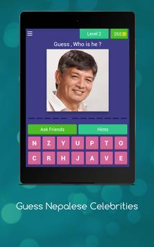 Guess Nepalese Celebrities screenshot 9