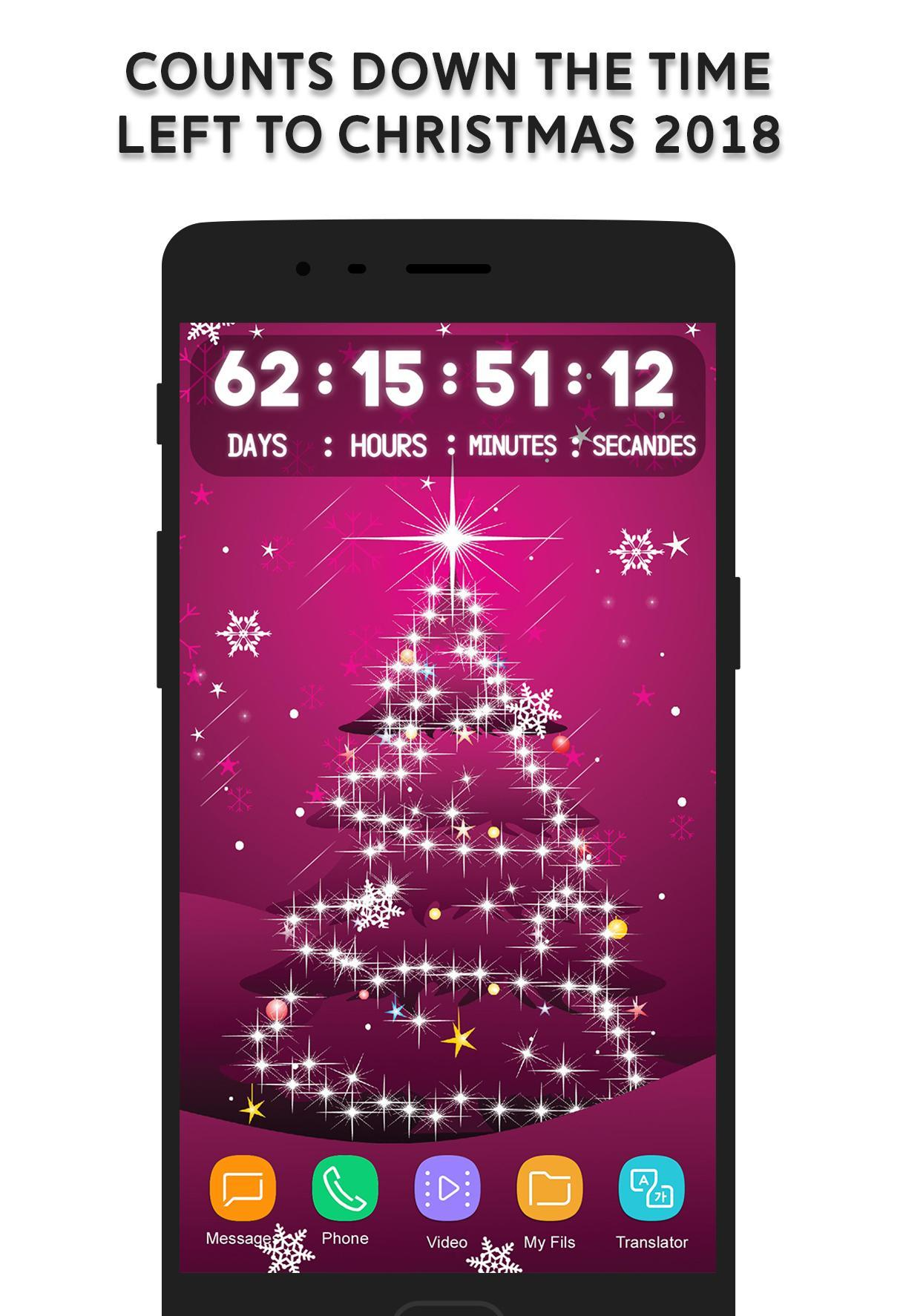 How Many Days Left For Christmas 2019.New Year Countdown 2019 For Android Apk Download