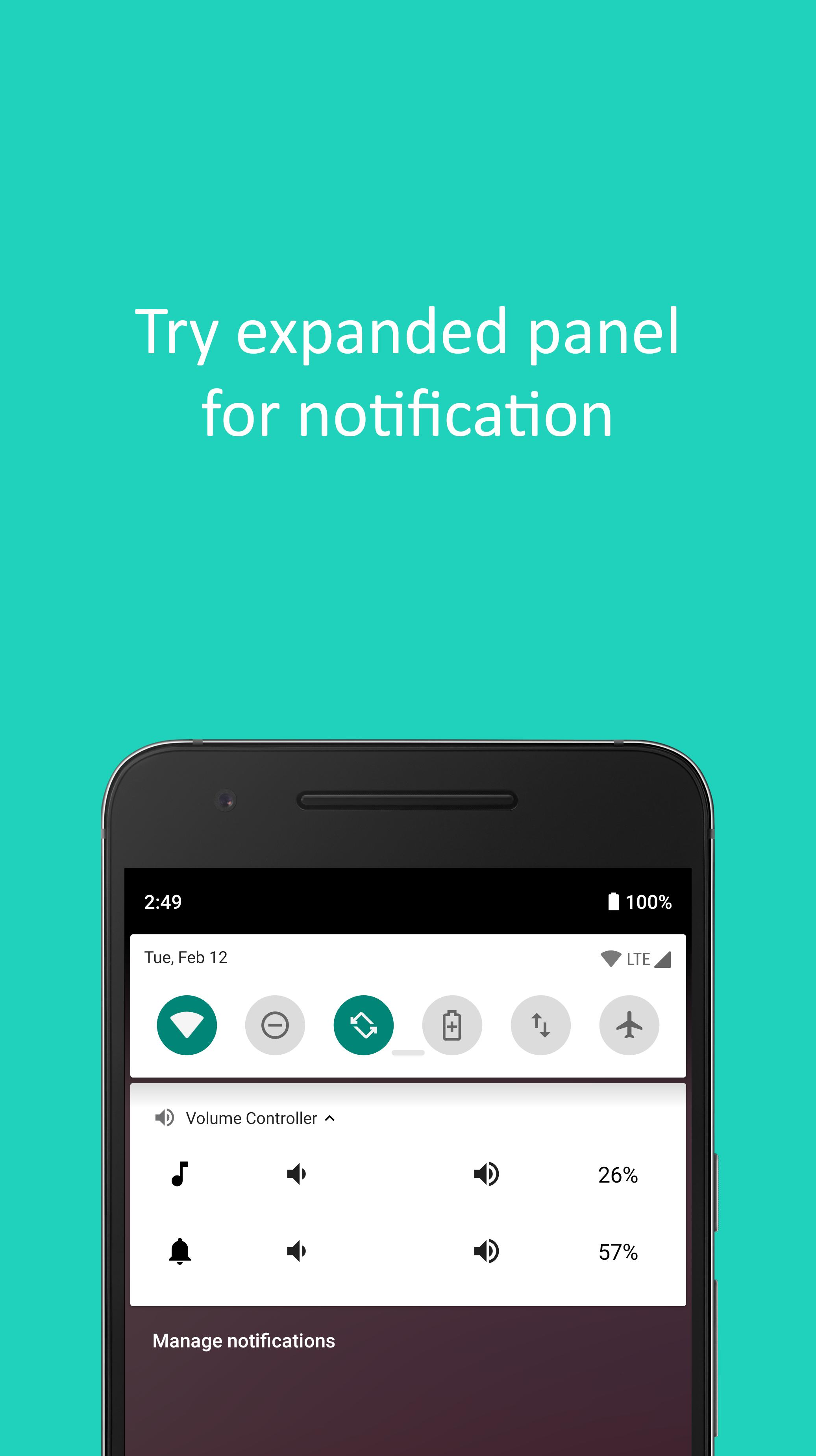Volume Control: Notification & Overlay Widget for Android - APK Download