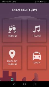 Kafanski Vodic poster