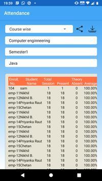 Attendance System screenshot 3