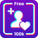 Get fans like and follower for Tiktk free APK Android
