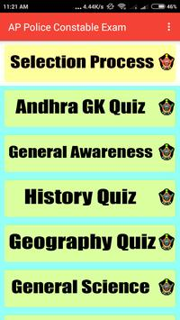 AP Police Constable Exam Guide poster