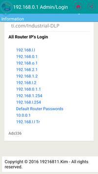 192.168.l.0 - 192.168.0.1 Login screenshot 3