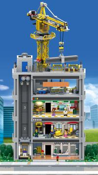 LEGO® Tower poster