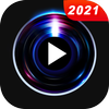 Reproductor de video HD icono