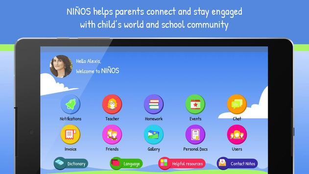 Ninos - Virtual Learning Environment poster