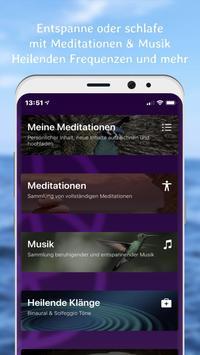 MYditation - Meditation für Entspannung & Schlaf screenshot 1
