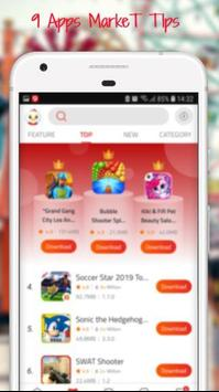 Fast New Tips or 9app Market Download for Android - APK Download