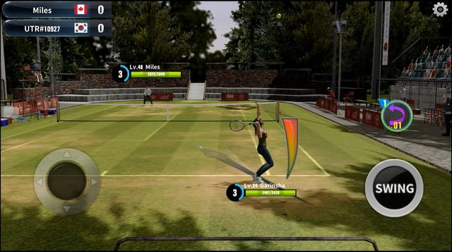 Tennis Slam screenshot 1