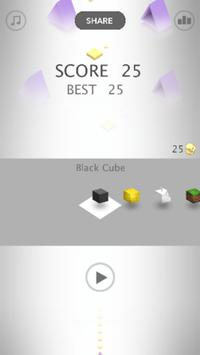 IMPOSSIBLE CUBE JUMPER: OBSTACLE COURSE GAMES screenshot 1