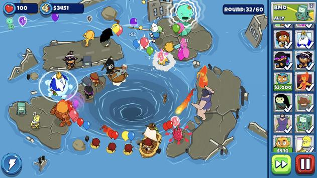 Bloons Adventure Time TD screenshot 1
