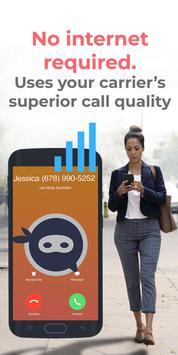 Smart Second Phone Line for Business: Ninja Number تصوير الشاشة 1