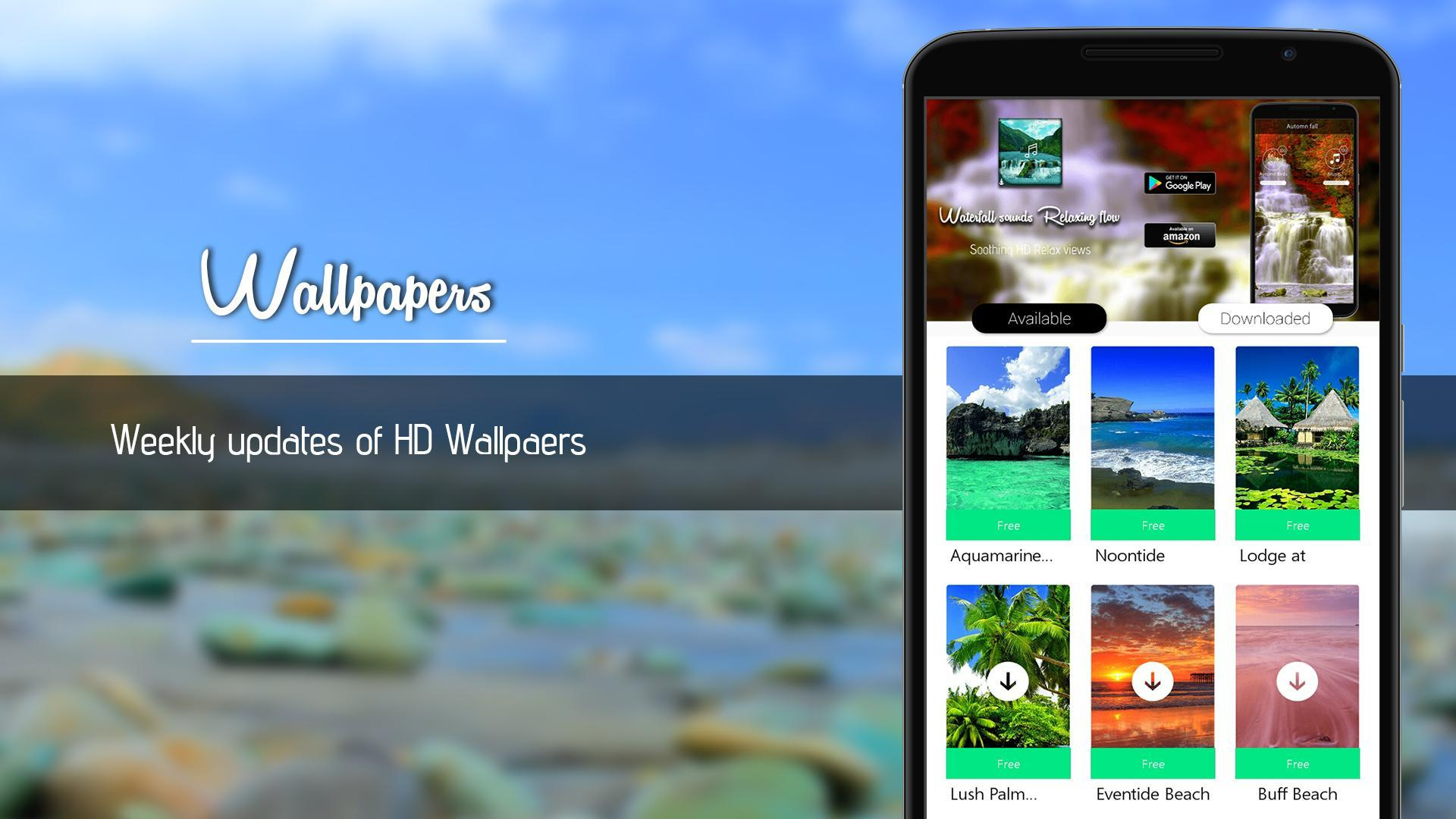 Relax Beach Sound ~ Waves HD for Android - APK Download