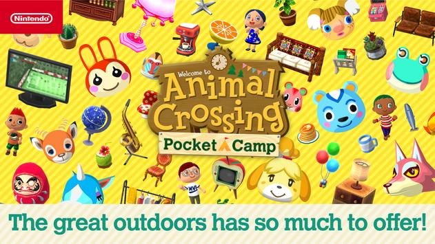 Animal Crossing: Pocket Camp poster