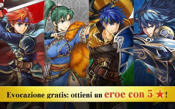12 Schermata Fire Emblem Heroes
