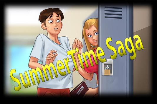 Summertime 2019 Saga New Helper poster