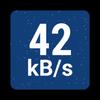 NetSpeed Indicator Zeichen