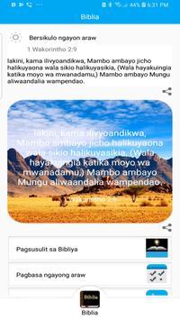 Bible in Swahili, Biblia Takatifu pamoja na sauti screenshot 1
