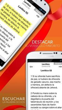 Santa Biblia Reina Valera Free screenshot 1