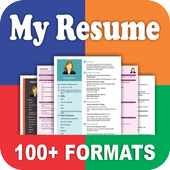 Resume Builder App Free CV Maker & PDF Templates icon