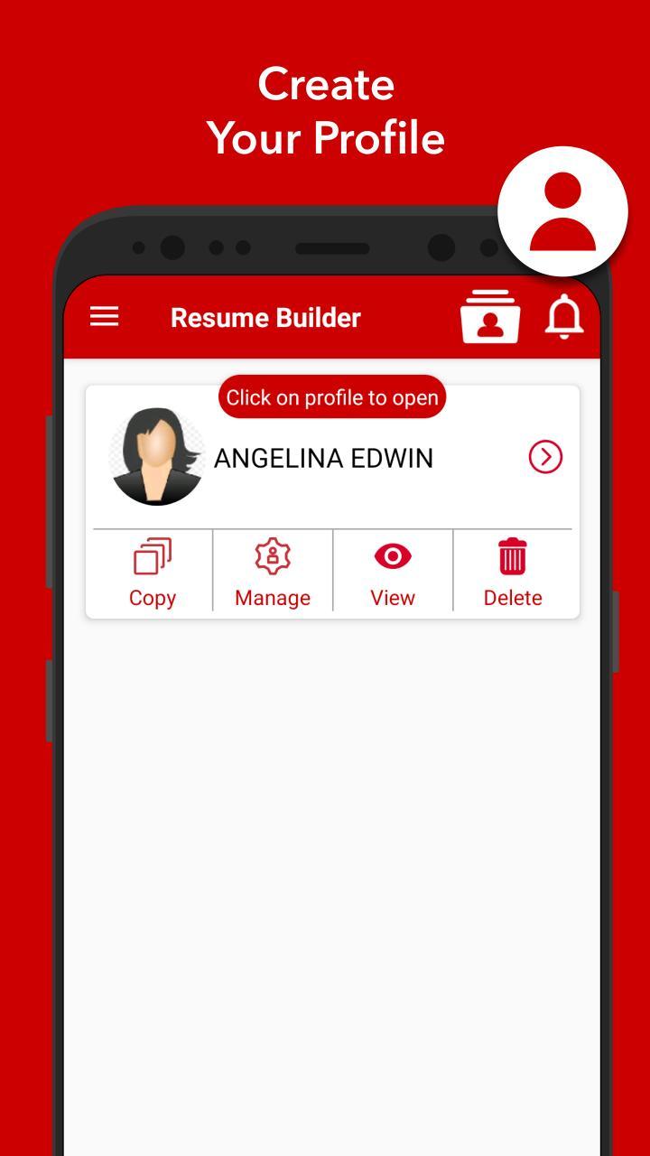 Cv Maker Resume App Free Curriculum Vitae Pour Android Telechargez L Apk