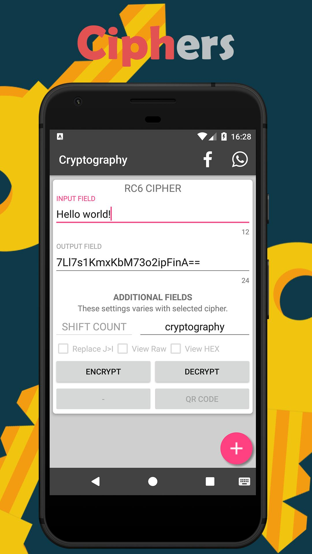 Cryptography for Android - APK Download