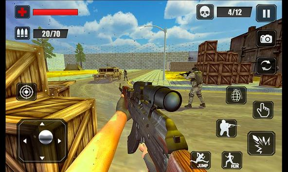 Counter Terrorist Stealth Mission Battleground War الملصق