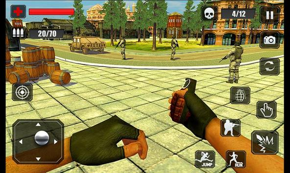 Counter Terrorist Stealth Mission Battleground War تصوير الشاشة 4