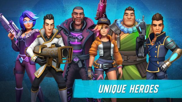 Heroes of Warland - Online 3v3 PvP Action screenshot 1