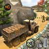 यूएस ऑफ रोड आर्मी ट्रक ड्राइविंग आर्मी वाहन ड्राइव आइकन